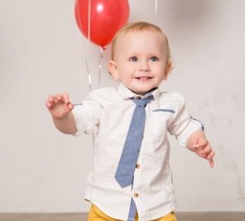 День рождения в фотостудии. 1 годик