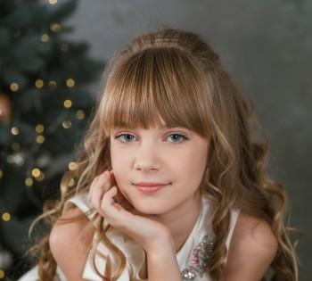 Детская фотосессия. Портрет девочки.