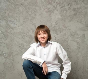 Стильная фотосессия для мальчика