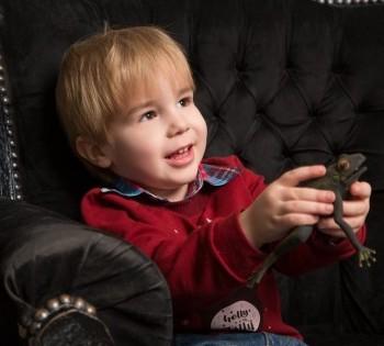 Эмоциональная фотография малыша. Детская фотосъёмка в студии