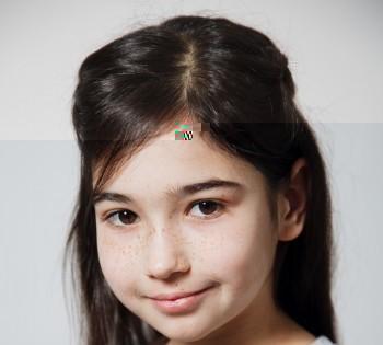 Детский портрет в фотостудии. Студийная фотосъёмка