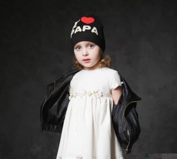 Модный образ для малышки. Студийная фотосессия в Днепре