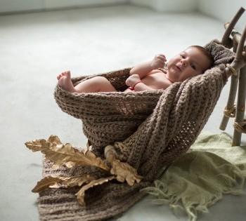 Незабываемая фотосессия младенца в фотостудии Птичка. Фотограф Лариса Дубинская. Днепр