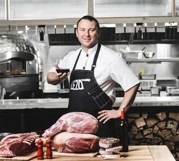 Рекламная съёмка мяса для упаковки. ТМ