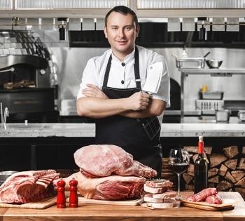 Рекламная съёмка мясной продукции для ТМ