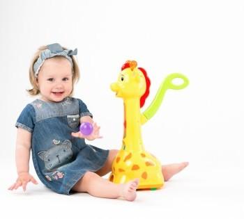 Рекламная фотосессия для магазина детских игрушек.