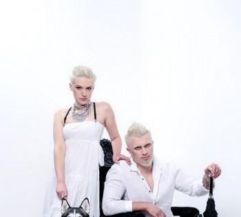 Креативный образ для рекламы парикмахерского салона