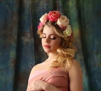 Студийный портрет будущей мамы. Фотосъемка беременности. Фотограф Лариса Дубинская. Днепр