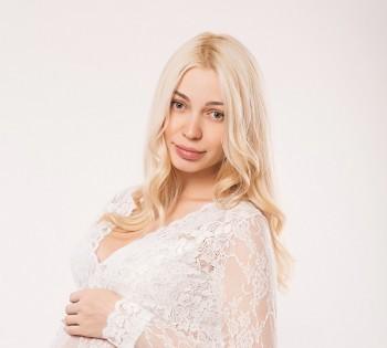 Фотосессия беременности в студии. Фотограф Лариса Дубинская. Днепр.