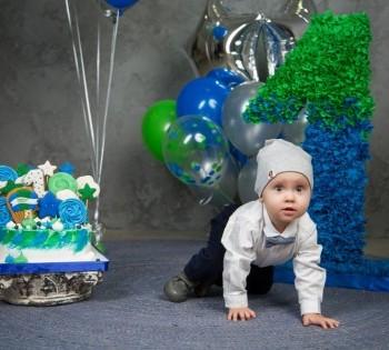 Фотосессия на один годик ребёнка. Фотосессия детей до года.