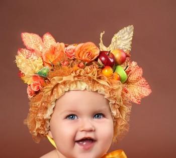 Яркая и необычная  фотосъемка ребенка. Фотосъемка первого года жизни ребенка. Фотограф Лариса Дубинская. Днепр