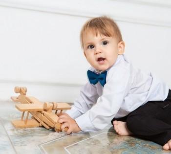Фотосессия маленького джентельмена. Фотосъемка первого года жизни ребенка. Фотограф Лариса Дубинская. Днепр