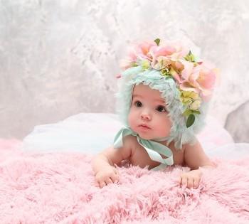 Детская фотосессия-образ. Фотосъемка первого года жизни ребенка. Фотограф Лариса Дубинская. Днепр