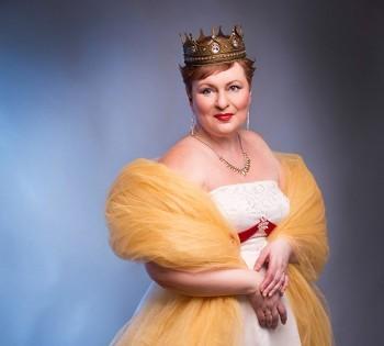 Королевский образ в проекте Преревоплощение. Фотостудия Птичка