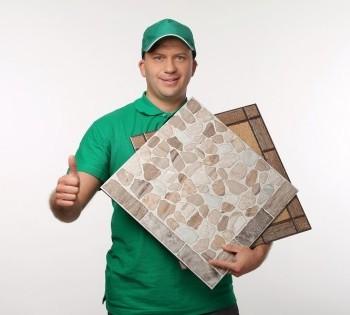 Рекламная фотосессия для сети магазинов сантехники и кафеля