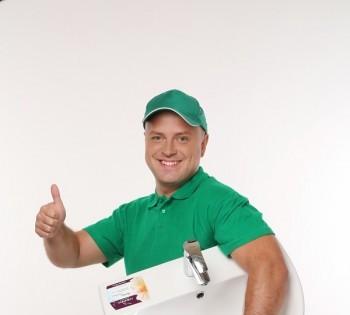 Рекламная съемка для сети магазинов сантехники и кафеля