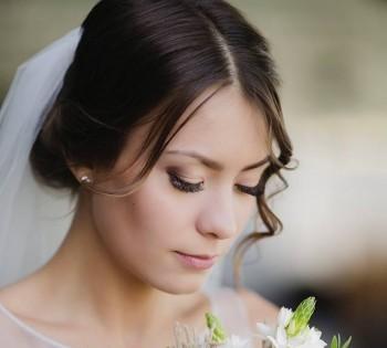 Нежный портрет невесты.