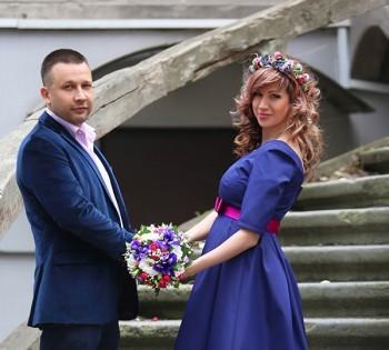 Стильная свадебная фотосессия. Свадебный фотограф в Днепре.