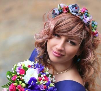 Фотография необычной невесты. Свадебный фотограф в Днепре.