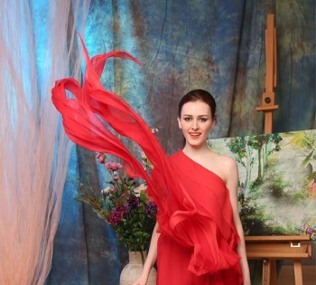 Романтичное платье для съемки. Аренда платьев в Днепре.