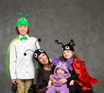 Креативная съёмка для всей семьи