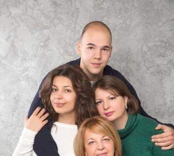 Фотосессия для всей семьи