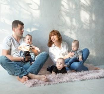 Семейная фотосессия. Идеи для семейной фотосессии.
