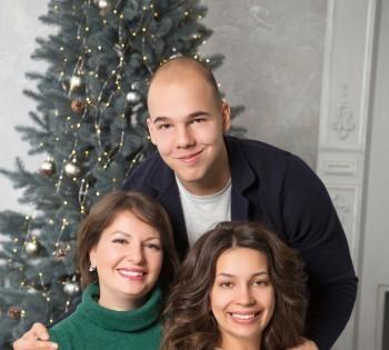 Фотосессия для дружной семьи