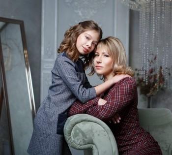 Трогательное фото мамы и дочери