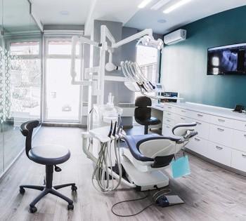 Интерьерная съёмка для стоматологической клиники